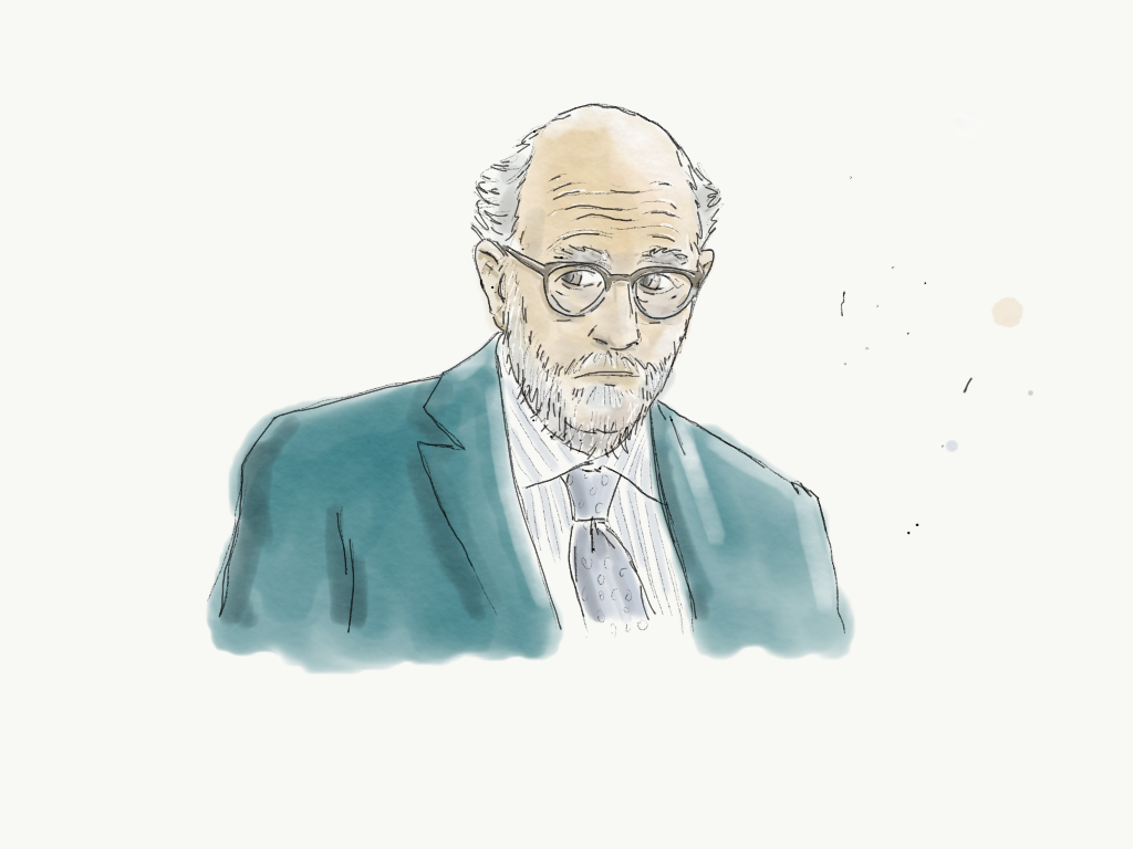 Old Detective From Dirk Gently`s Holistic Detective Agency